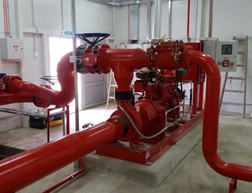 Izrada protivpožarnih sistema – sprinkler sistemi