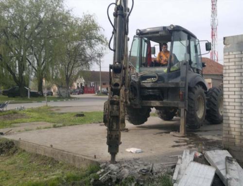Lupanje i rušenje betonskih konstrukcija