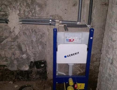 Izrada vodovoda i kanalizacije.